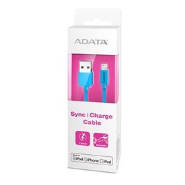ADATA MFI Lightning USB kabel til iPhone - Blå - 1 meter