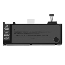 "Batteri til MacBook Pro 13"" Unibody A1278 A1322 - 6000mAh"