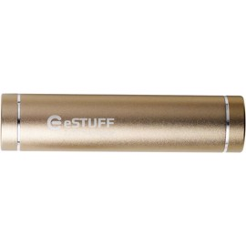 eSTUFF Powerbank til iPhone iPad Smartphone 2200mAh - Gold