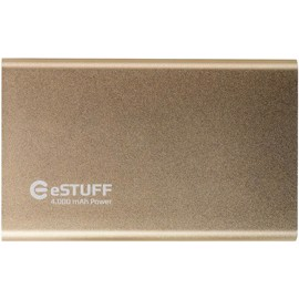 eSTUFF Powerbank til iPhone iPad Smartphone 4000mAh - Gold