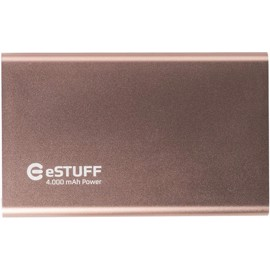 eSTUFF Powerbank til iPhone iPad Smartphone 4000mAh - Rose Gold