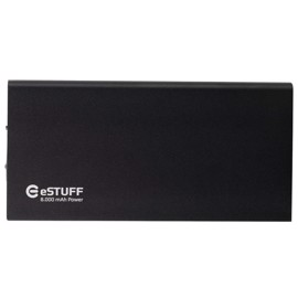 eSTUFF Powerbank til iPhone iPad Smartphone 8000mAh - Black