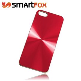 Smartfox Alucase Cover til iPhone 5 - Rød