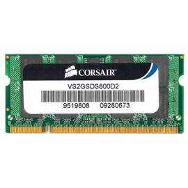 Corsair - SO DIMM - DDR2 - 2 GB - 1 x 2 GB - 800 MHz / PC2-6400